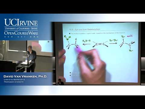 Organic Chemistry 51B. Lecture 07. Alkenes, Part 2.