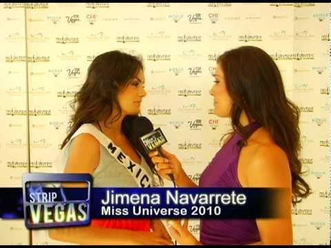 Miss Universe - final 5 Contestants - Exclusive Interviews