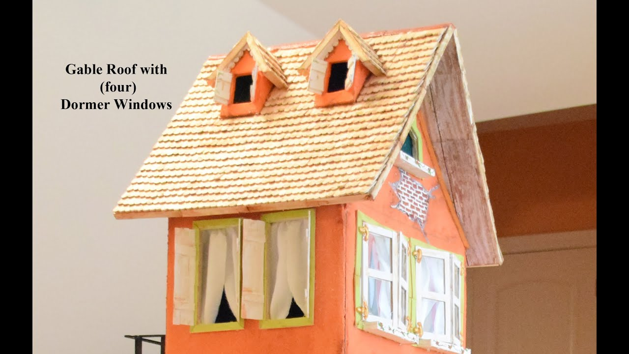 How to make a Miniature House Tutorial. (Part 2) \' Making the ...