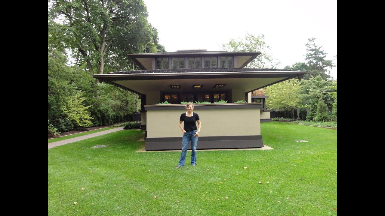 Frank lloyd wright house lecturer youtube for Frank lloyd wright house piani gratuiti