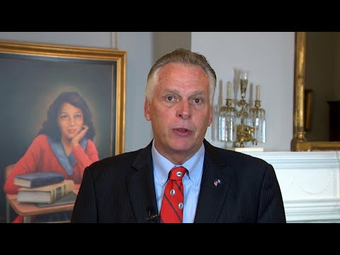 "Virginia Gov. McAuliffe says white supremacists are ""not patriots"""