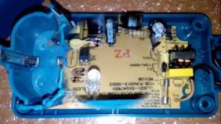 Ремонт зарядного устройства ''Калибр''.