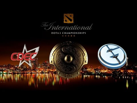 CDEC  vs  EG, TI5 Grand Final, Game 1 Русские комментаторы The International 5