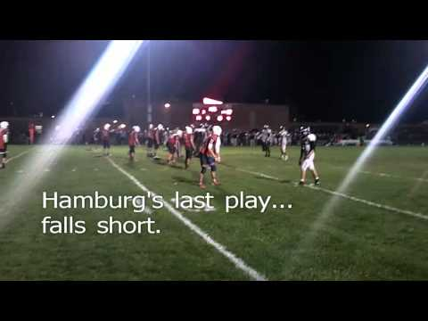 Iroquois vs Hamburg High School Football 2012