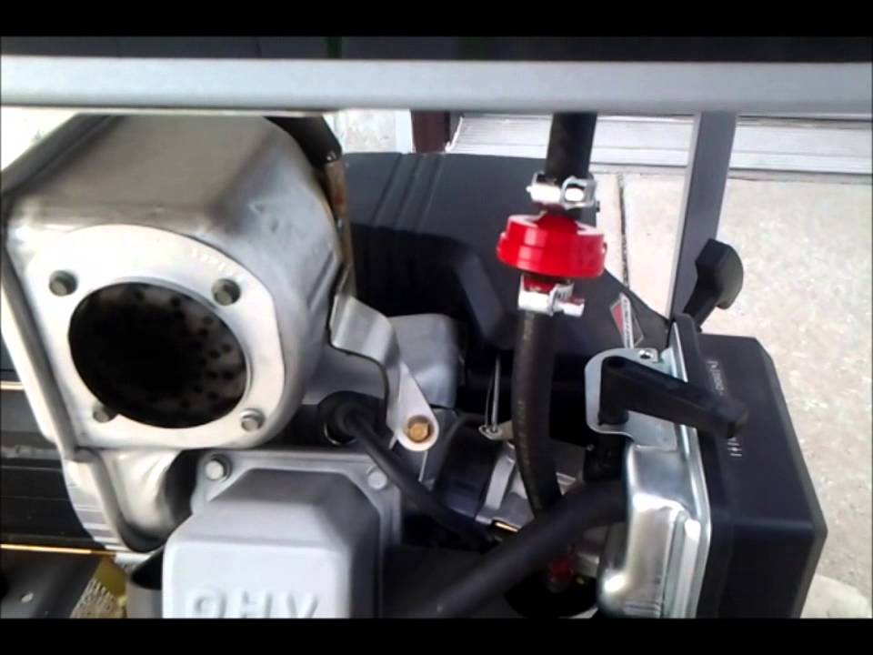 Installation of a Fuel Filter on my Briggs  Stratton 5,550 Watt Generator