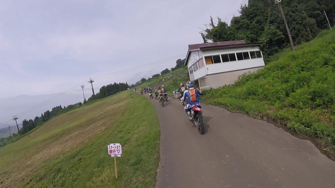 2019年6月9日 JNCC Rd.4 ビューファインダー戸狩 スタート地点への移動路