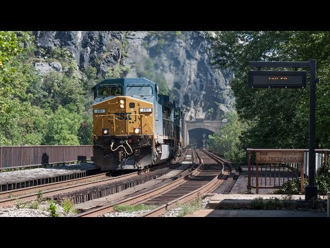 HD: Harpers Ferry Area Trains - CSX Cumberland & Metropolitan Subs
