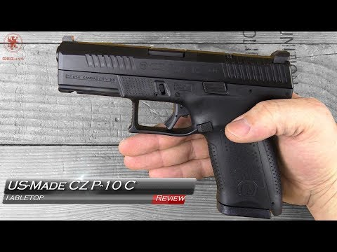 New US-Made CZ P10 C Tabletop Review and Field Strip