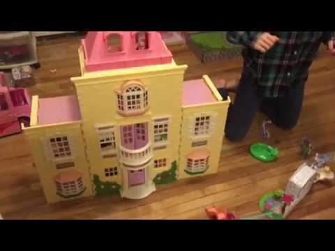 Kenya's Fisher-Price Loving Family Grand Dollhouse And Furniture