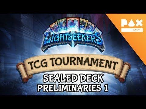 Pax South 2018 Sealed Tournament - Preliminaries 1