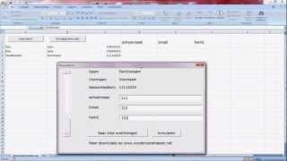 Belgische identiteitskaart uitlezen met Excel