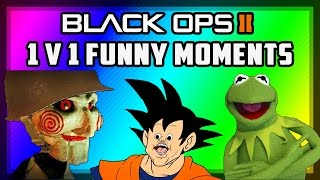 JigSaw & Kermit 1v1! (Black Ops 2 Voice Trolling Funny Moments)