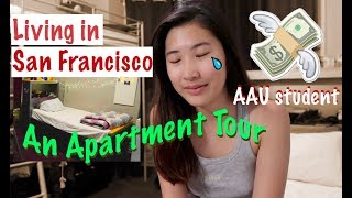 Living in San Francisco+ Apartment Tour // AAU international student
