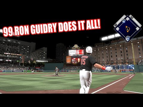 99 RON GUIDRY DOES IT ALL! - MLB The Show 17 Diamond Dynasty Gameplay