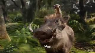 Gambar cover The Lion King (2019) - The Lion Sleeps Tonight (Lyrics) 1080pHD