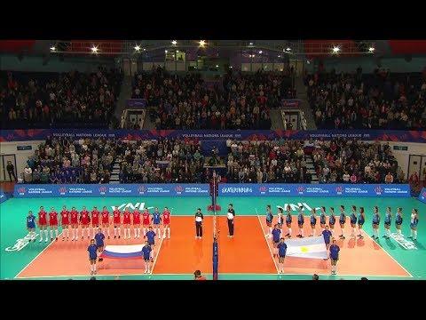 Women's VNL 2018: Russia V Argentina - Full Match (Week 1, Match 2)