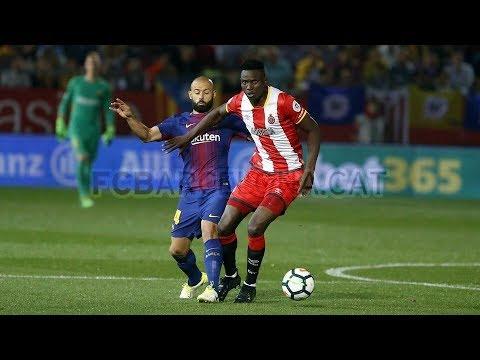 MICHAEL OLUNGA VS FC BARCELONA ( 23/09/17)