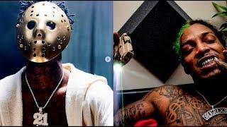 21 Savage Exposed Fake Atlanta Blood Rapper Drug Rxch Peso Clout Chasing Souljaboy..DA PRODUCT DVD
