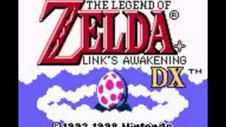 Legend of Zelda Links Awakening (GBC) Intro
