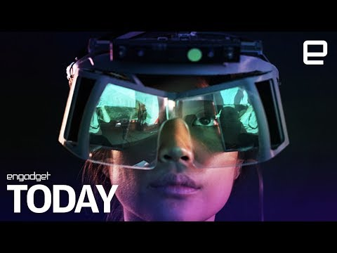 Leap Motion crafts a reference design for cheap AR headsets | Engadget Today