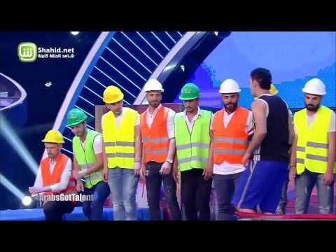 Arabs Got Talent- عرض النصف نهائيات – فريد زيتون