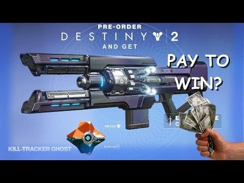Destiny: 2 PAY TO WIN?  Pre-Order Bonuses!