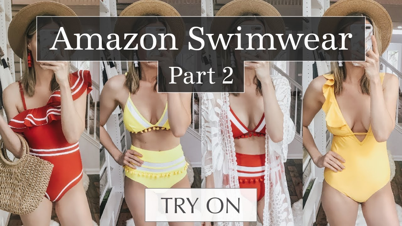 bc180d18f3 Amazon Swimsuit Try On & Review Part 2 | Lee Benjamin - YouTube