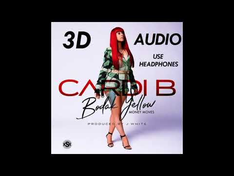 (3D AUDIO) Cardi B - Bodak Yellow (USE HEADPHONES!!)