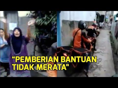 VIRAL Video Warga di Bandung Tolak Bantuan Ridwan Kamil karena Tidak Sesuai Data