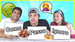 DESAFIO QUEM COME, PASSA ou IGNORA !!
