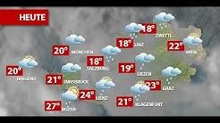 Aktuelle Wetterprognose für Donnerstag (18.06.2020)