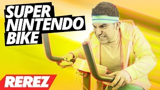 Super Nintendo Exercise Bike! - LifeCycle Exertainment - Rare Obscure or Retro - Rerez