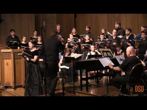 Oregon State University Chamber Choir:  2016 Presidents Conc
