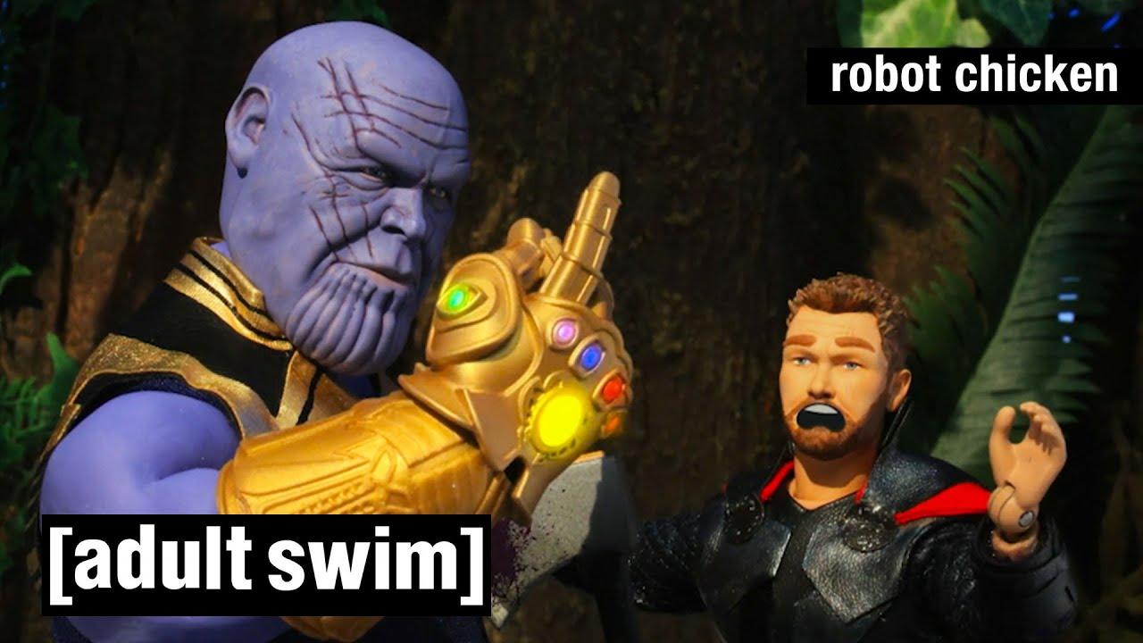 Robot Chicken | Thanos Snap | Adult Swim