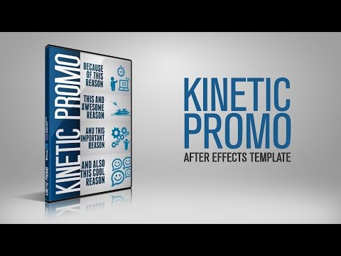 Kinetic Promo After Effects Template | BlueFx After Effects Projects