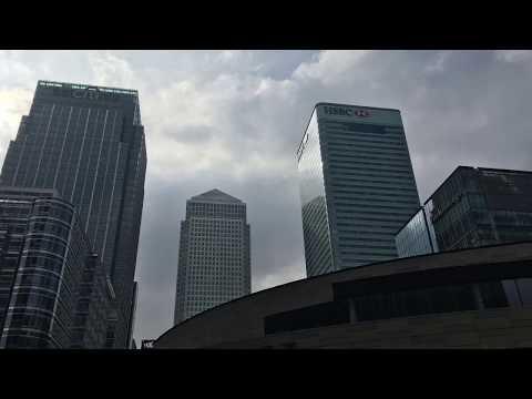 Tour of Canary Wharf - Financial capital of U.K.