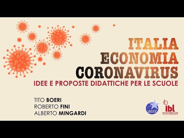 Italia Economia Coronavirus. Idee e proposte didattiche per le scuole