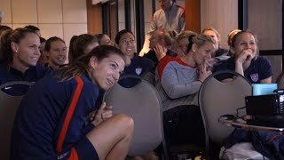 WNT Watches World Cup Draw in Brazil
