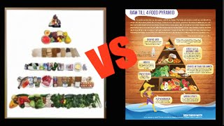 New food pyramid SUCKS! Raw Till 4 food pyramid FTW!