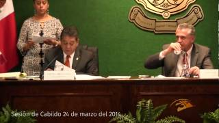 Sesión de Cabildo 24 de marzo del 2014 Cd. Juárez Chih.