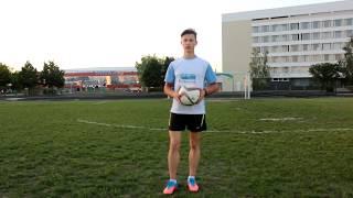 Как научиться набивать мяч? / How to learn to juggle the ball ?