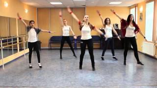 Русь танцевальная 2016 обучающее видео - урок 7