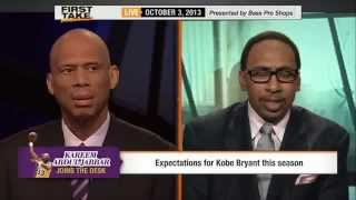 Kareem Abdul Jabbar Disses Dwight Howard!       ESPN First Take