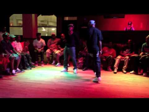 Spinz vs R.Hicks   Battle Of The Out-Of-Towners   Memphis Jookin 2013