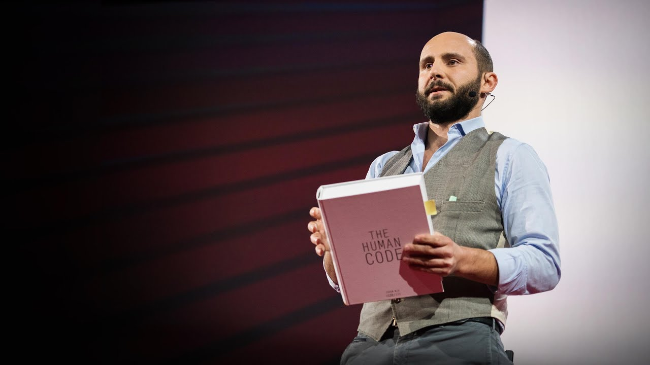 How to read the genome and build a human being | Riccardo Sabatini