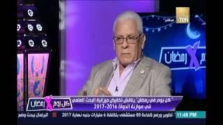 د.عبدالله سرور :تطوير البحث العلمي ليس بالاموال فقط وانما بتوفير بيئة حاضنة وتعديل في التشريعات