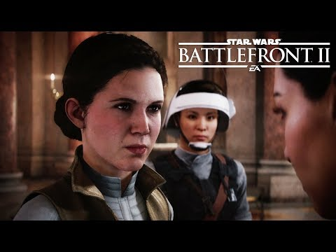 STAR WARS: BATTLEFRONT 2 All Princess Leia Scenes