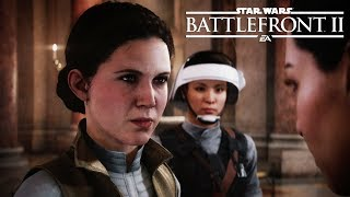 STAR WARS: BATTLEFRONT 2 All Princess Leia Scenes