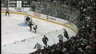 Minnesota Wild vs. Colorado Avalanche 2003 Game 7 Overtime