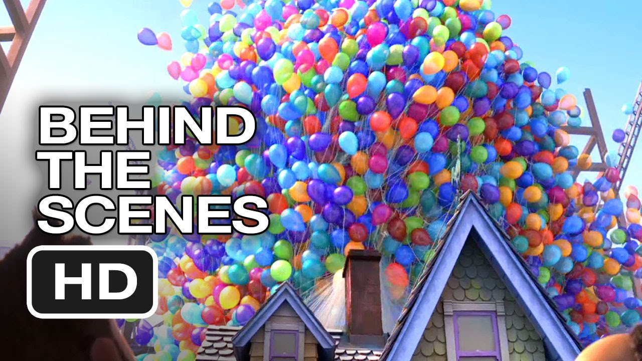 up 3d behind the scenes balloons and flight 2009 ed asner